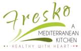 Fresko A Mediterranean Kitchen logo scroll