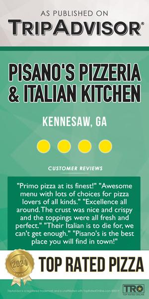 Top rated pizza TripAdvisor