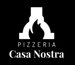 Pizzeria Casa Nostra logo scroll