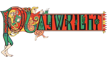 Playwright Tavern & Restaurant logo scroll