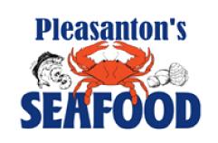 Pleasanton's Seafood logo
