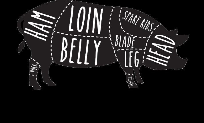 Porkchop BBQ logo top