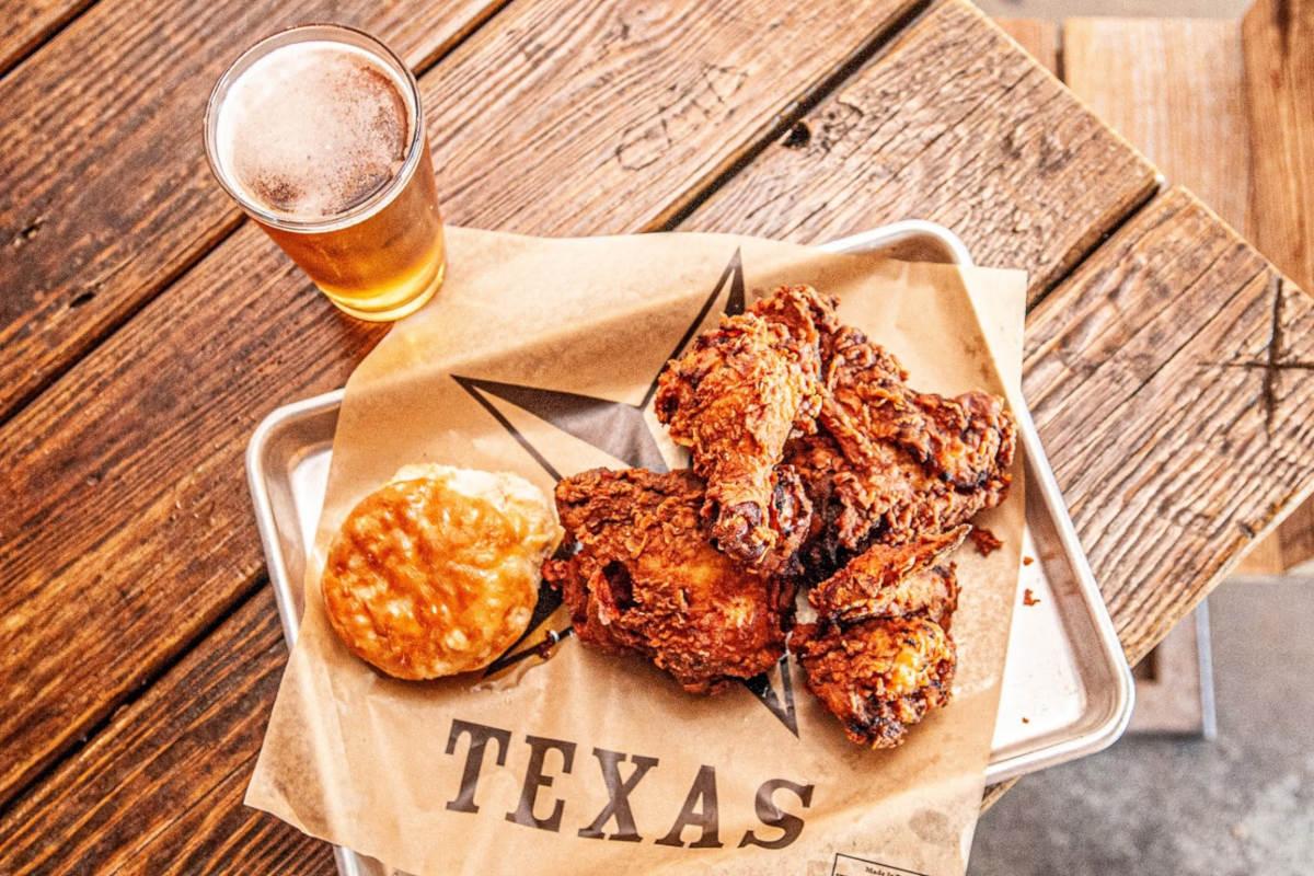 fried chicken craft beer