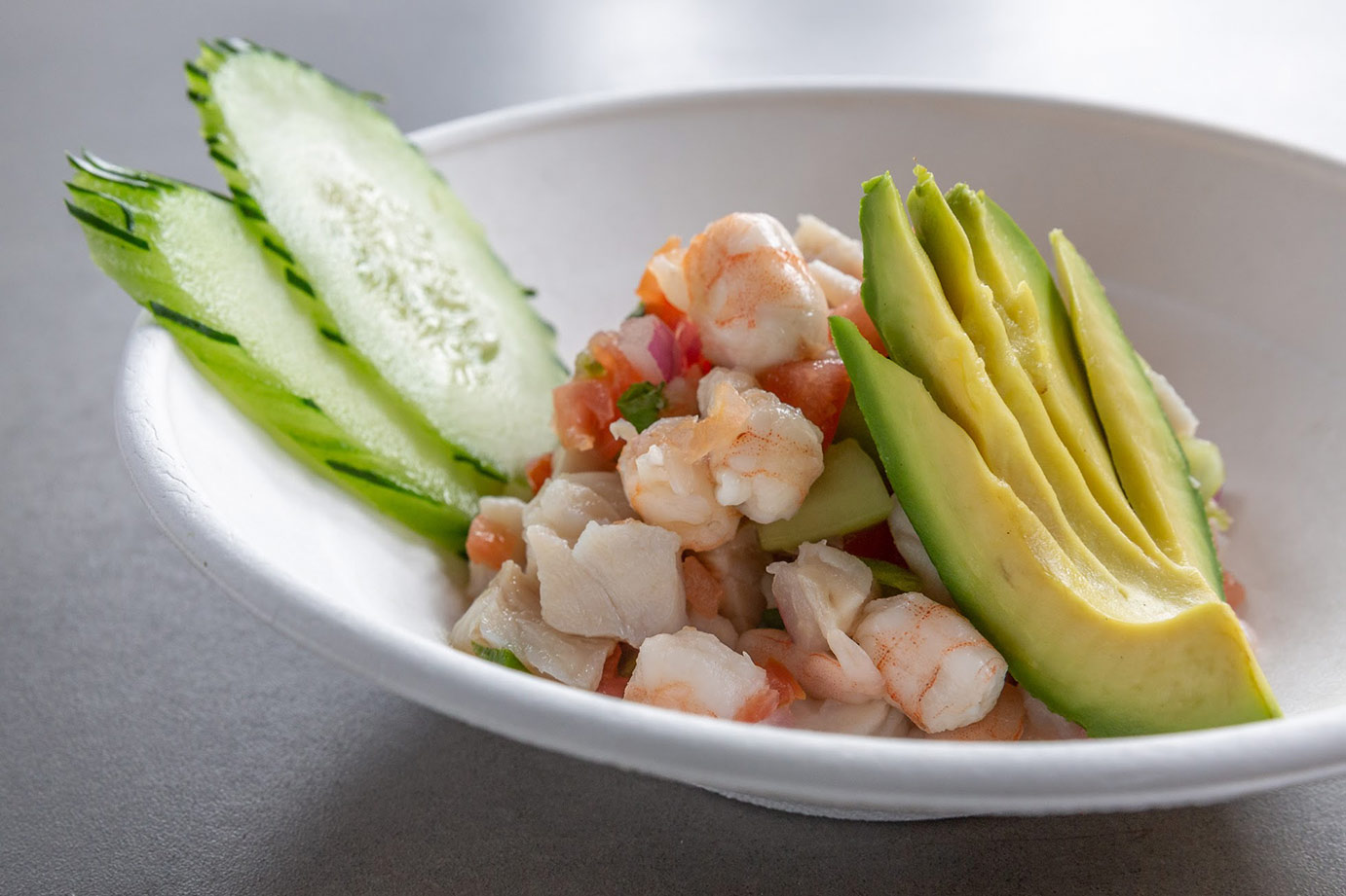imags of avocado shrimp salad