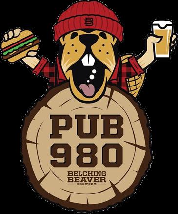 Belching Beaver Pub 980 logo