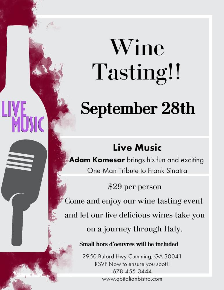 Italian Wine tasting event