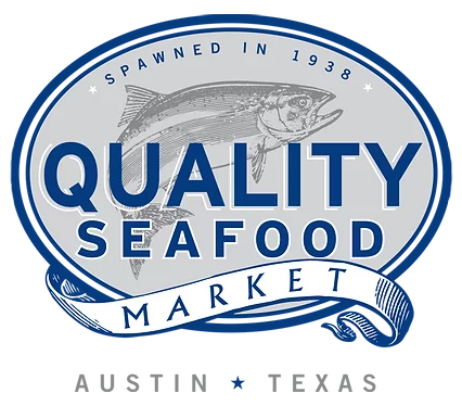 Quality Seafood Market logo scroll