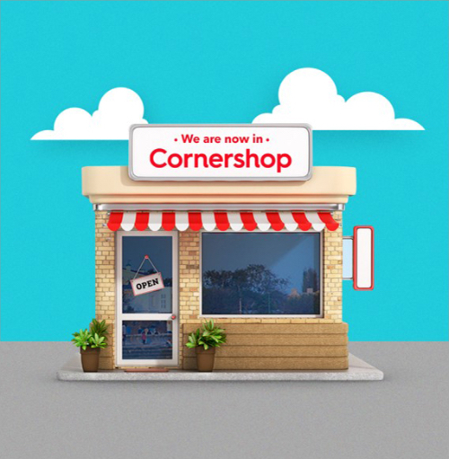 Ubers Grocery cornershop