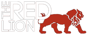 The Red Lion logo top