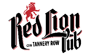 Red Lion Pub logo scroll