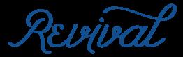 Revival logo scroll