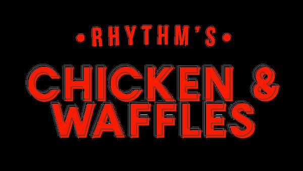 Rhythm's Chicken and Waffles logo top