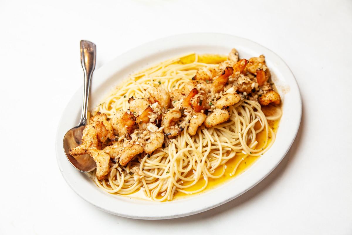 Shrimp ala Riccio