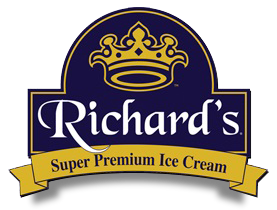Richard's Super Premium Ice Cream logo