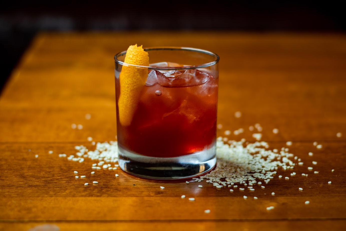Sesame Old Fashioned