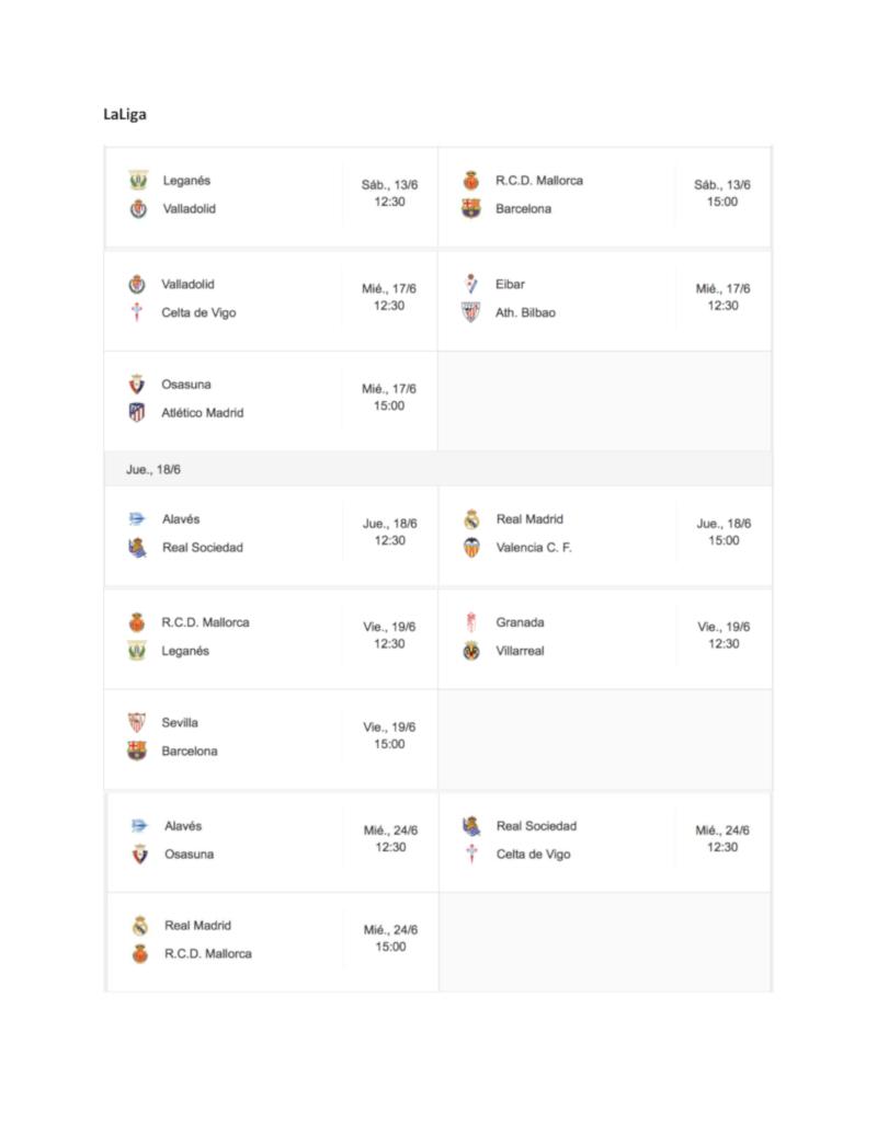 sport schedule 2