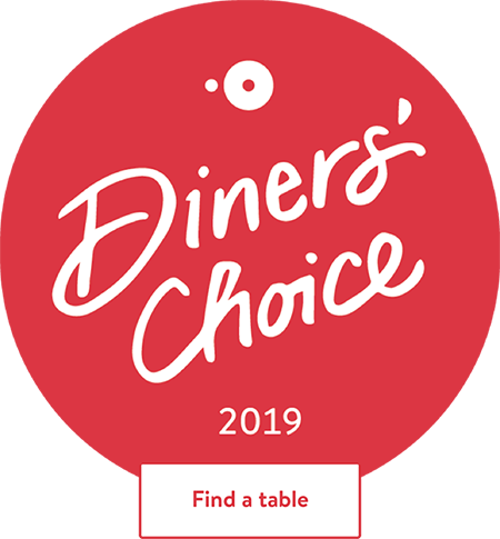 diners choice award for 2019