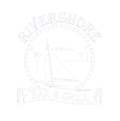 Rivershore Bar & Grill logo top