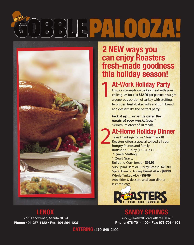 gobble palooza article flyer