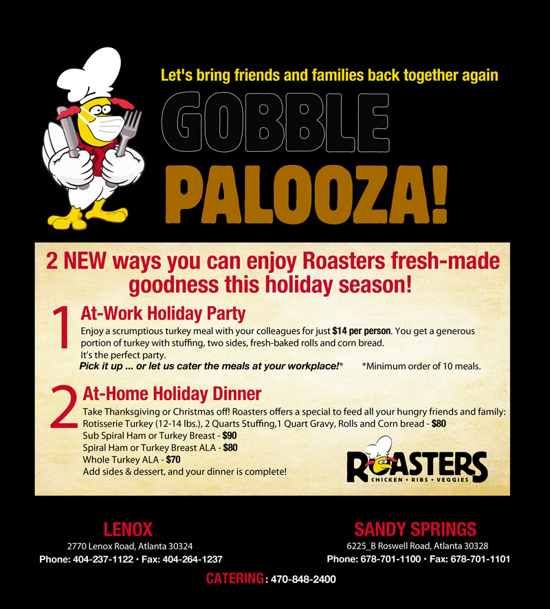Gobble Palooza flyer