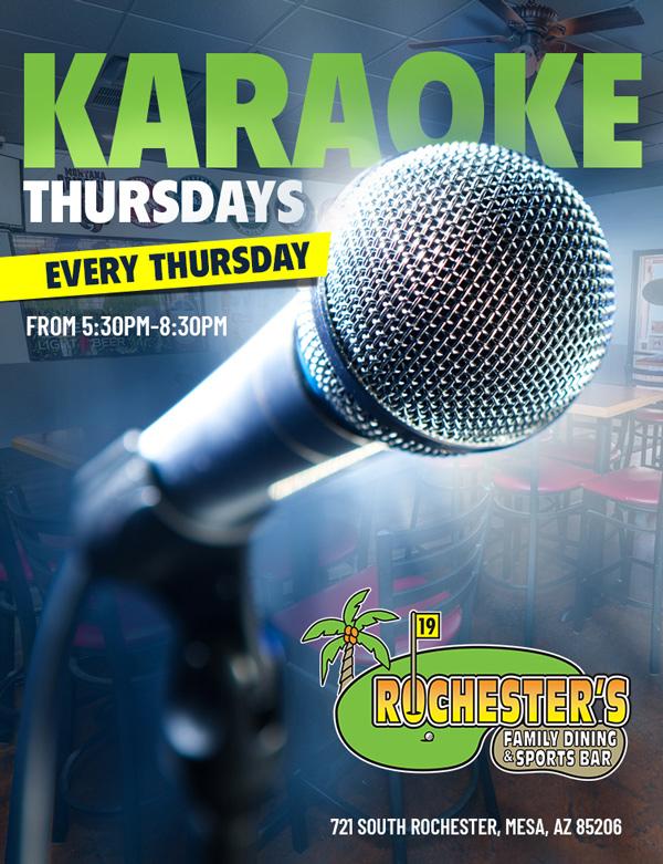 Karaoke Thursdays event photo