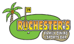 Rochester's Family Dining & Sports Bar logo scroll