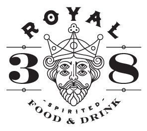 Royal 38 logo top