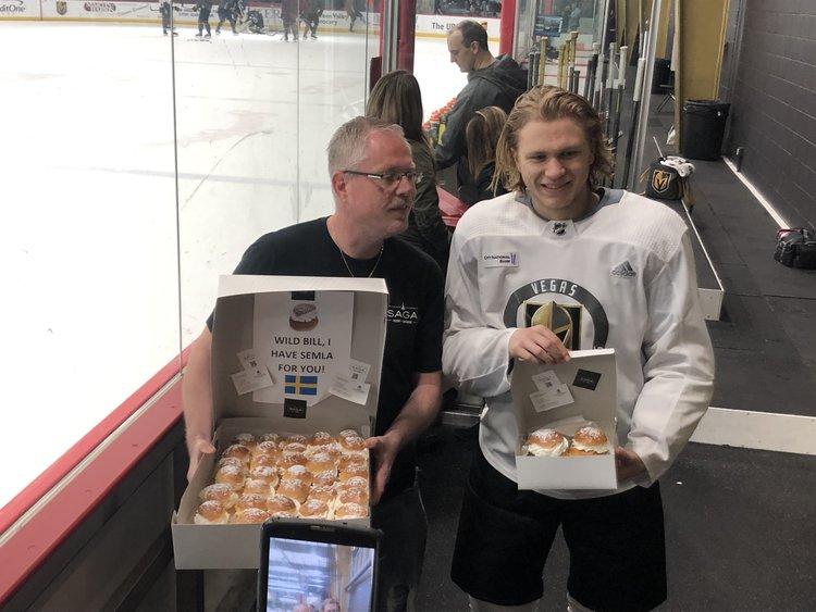 William Karlsson and Chef Gert Kvalsund