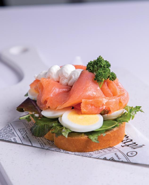 The Salmon Salad