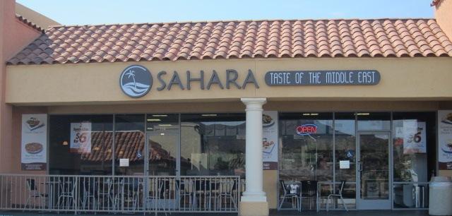 Sahara restaurant exterior