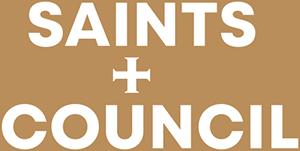 Saints + Council logo