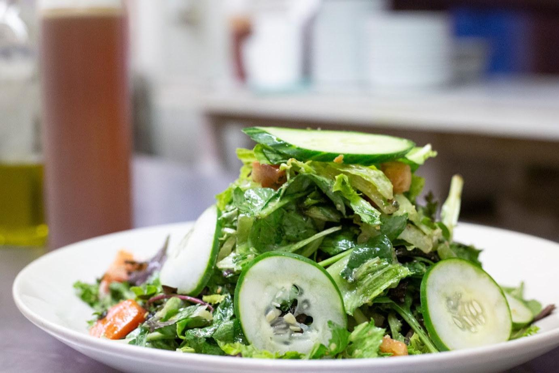 Seasonal vegetables salad