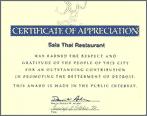 Appreciation Certification