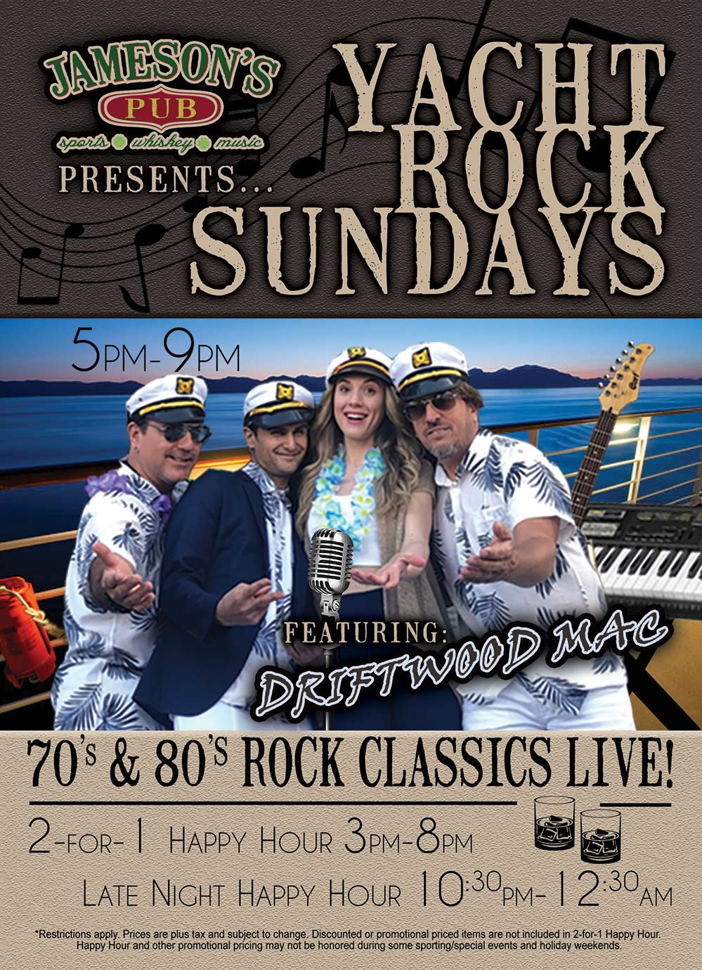 Yacht Rock Sundays