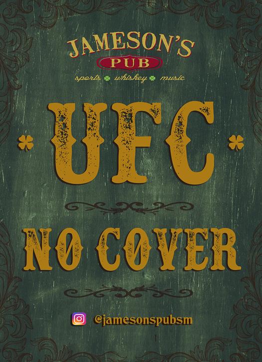 UFC no cover