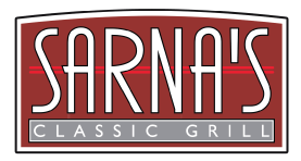 Sarna's Classic Grill logo top