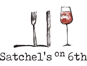 Satchel's on 6th logo top