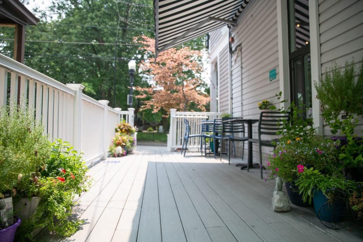 Exterior, Outdoor Deck