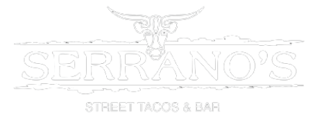 Serrano's Street Tacos & Bar logo scroll