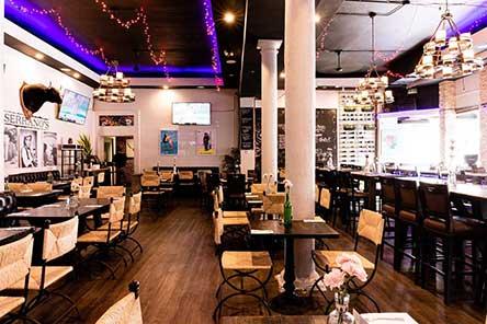 Serrano's Street Tacos & Bar restaurant interior