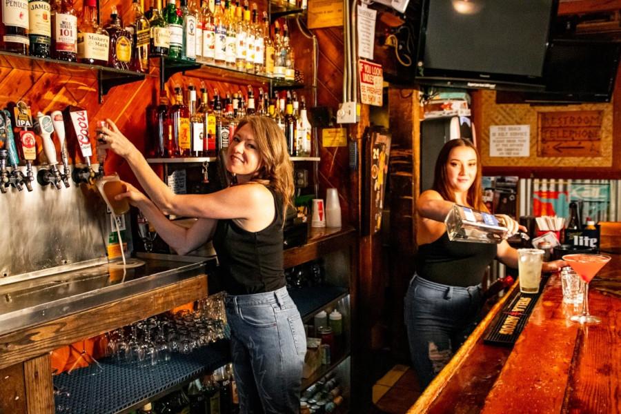 female bartenders