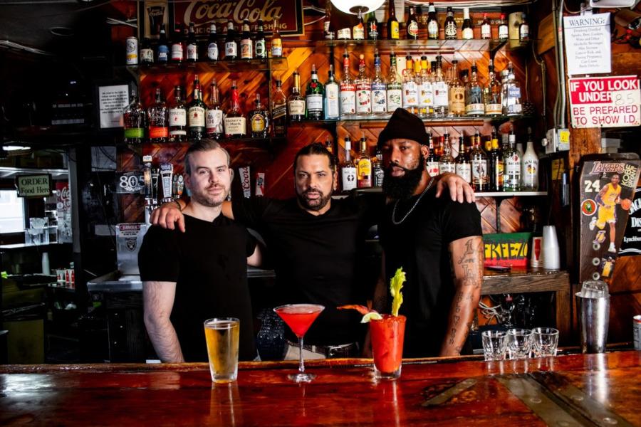 male bartenders