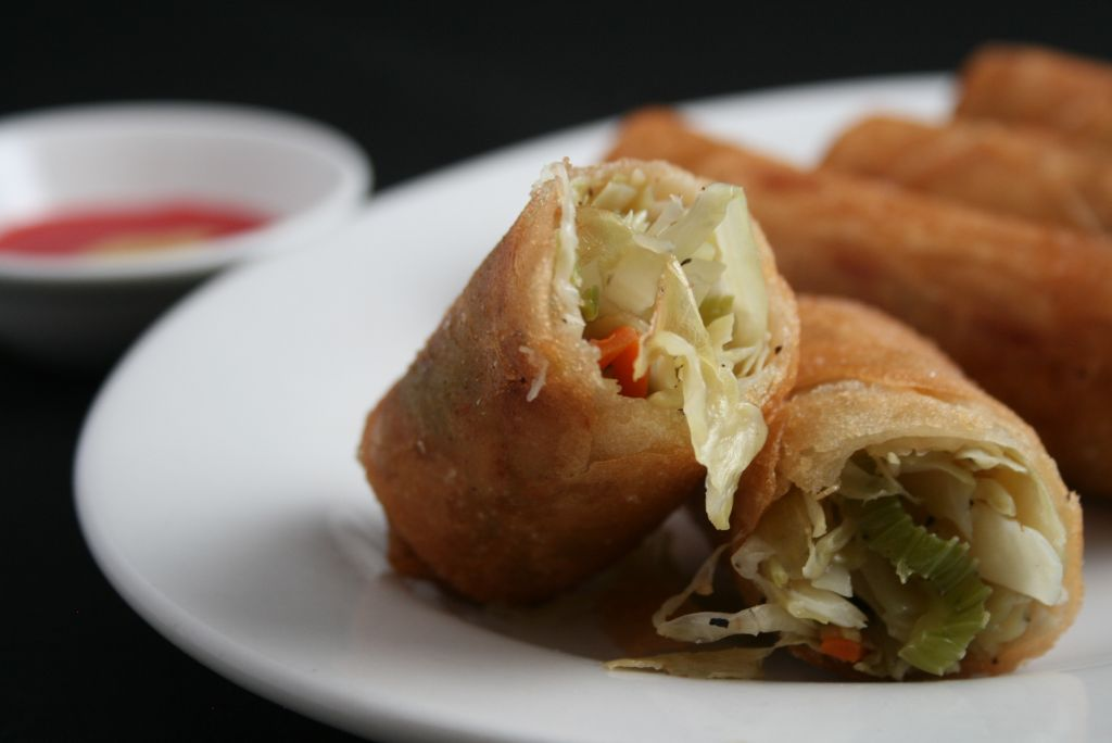 appetizers spring rolls