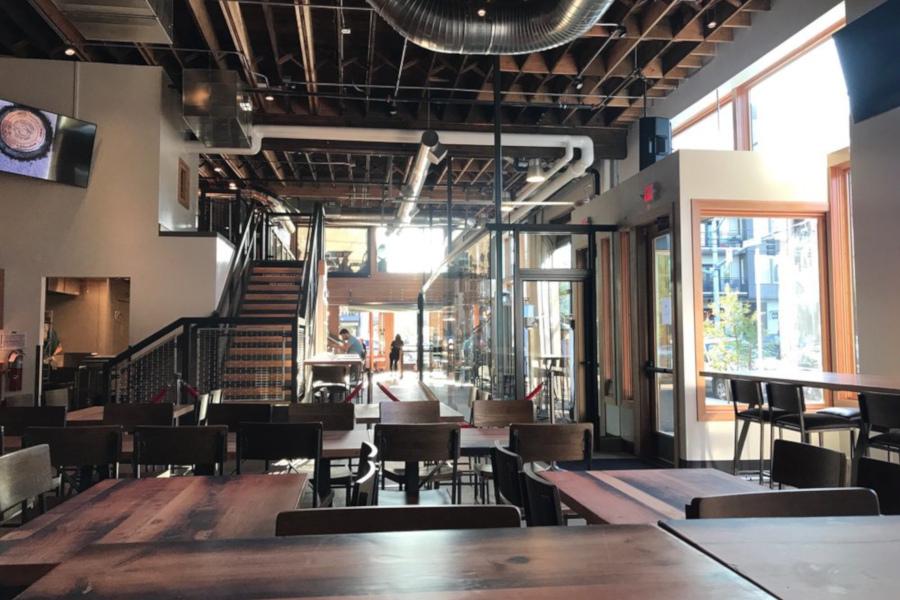 Interior, West Room view