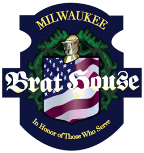 Milwaukee Brat House Shorewood logo scroll