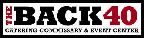 back 40 event center logo