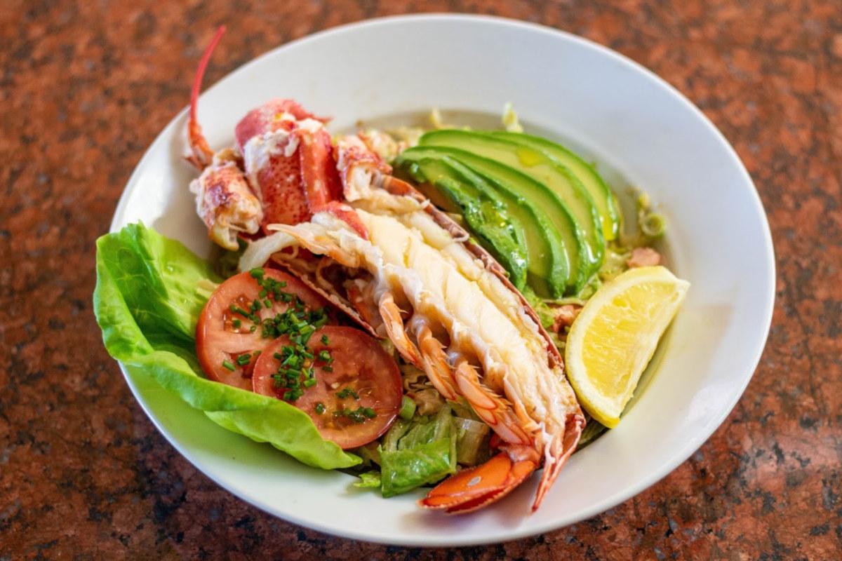 Lobster Salad top view