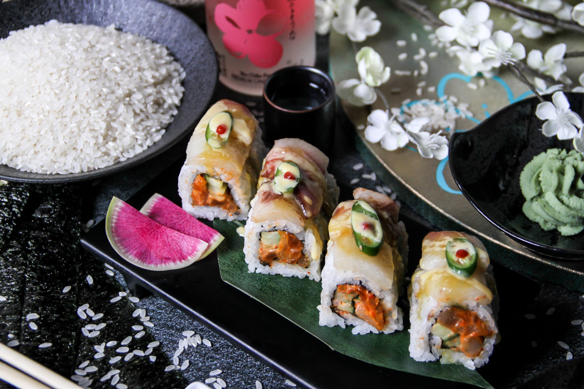kamikaze sushi roll