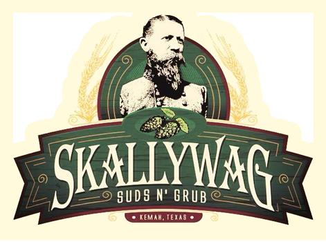 Skallywag Suds N Grub logo top