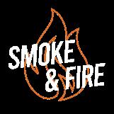 Smoke & Fire logo top